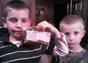 Garrett McCollough and his Brother