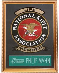 NRA Plaque