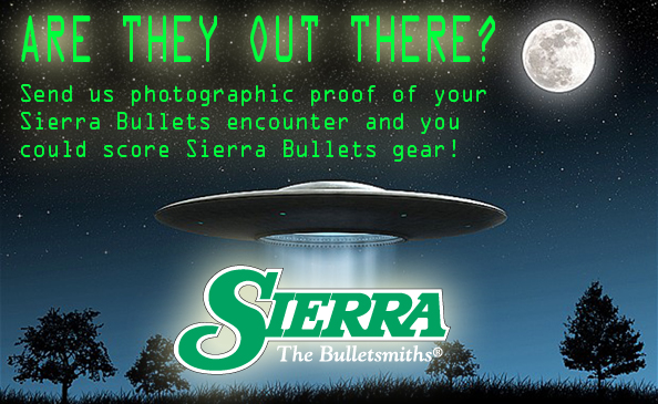 Sierra Bullets Out There Contest
