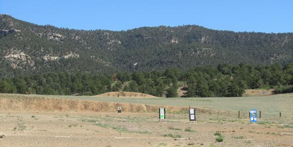 NRA Whittington Center Gun Range