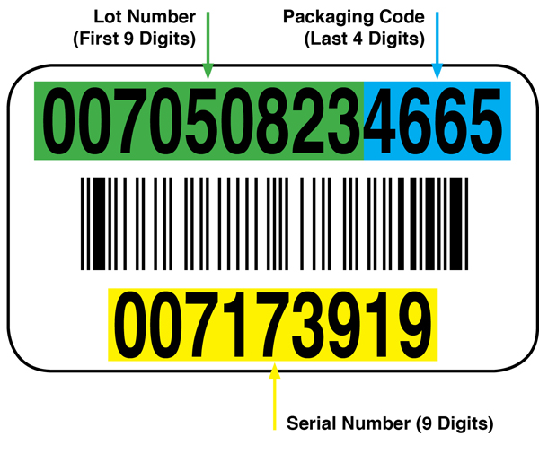 Sierra Bullets Bar Codes