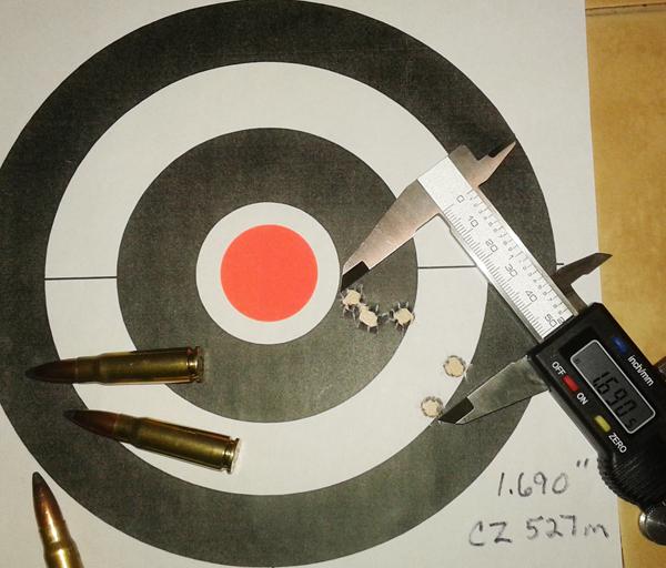 CZ 227M Target
