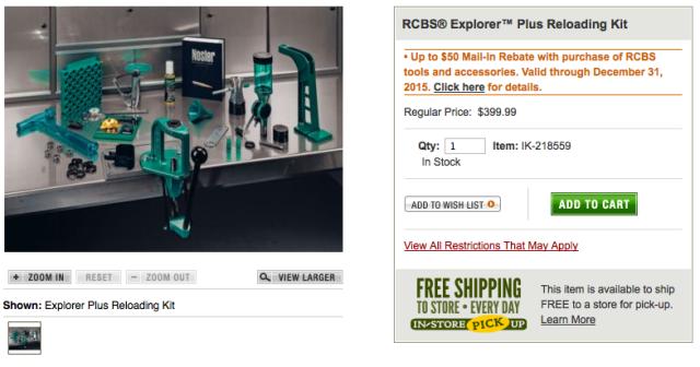 RCBS Reloading Kit