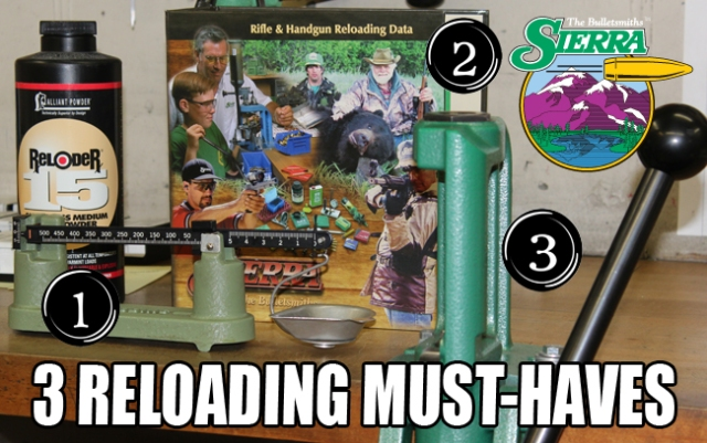 3 Reloading Must-Haves