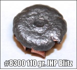 #8300 110 gr JHP Blitz