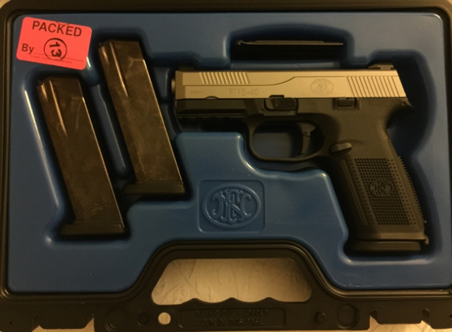 FNS-40_Gun
