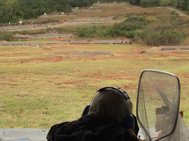 Carroll Pilant Shooting Silhouette