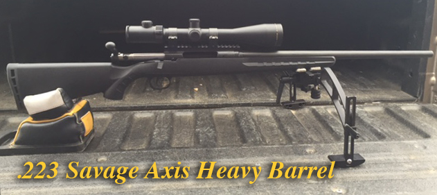 223 Savage Axis Heavy Barrel