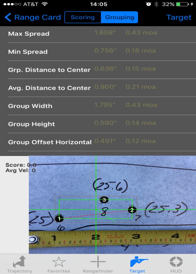 69 gr tipped MatchKing Ballistic AE Screenshot
