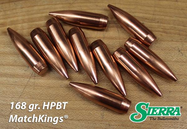 168 gr HPBT MatchKing