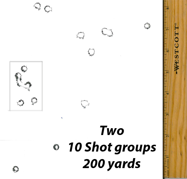 200 yard groups