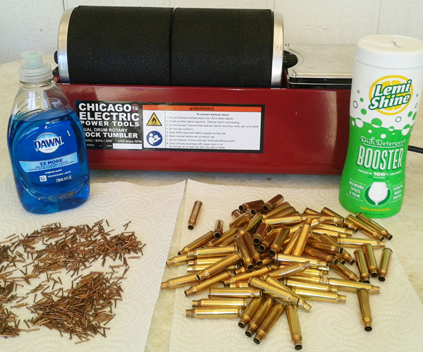 New Brass Case Tumbler Cleaning Ammo Cleaner Shell Kit Bullet Quick /& Easy