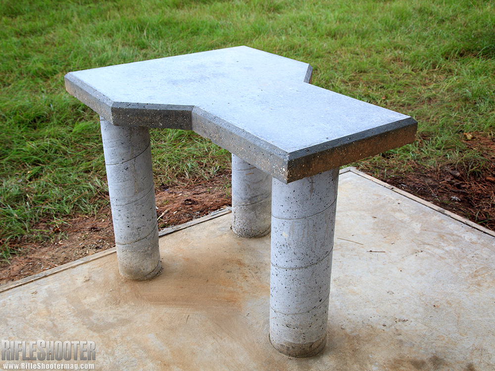 Click Here For The Plans To Build This Ultimate Concrete Shooting Bench  From RifleShooterMag.com. More Shooting Bench Inspiration: